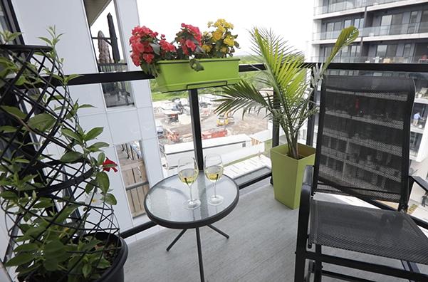 jardin de balcon