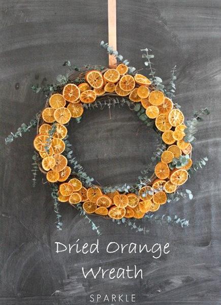Idées décorations oranges